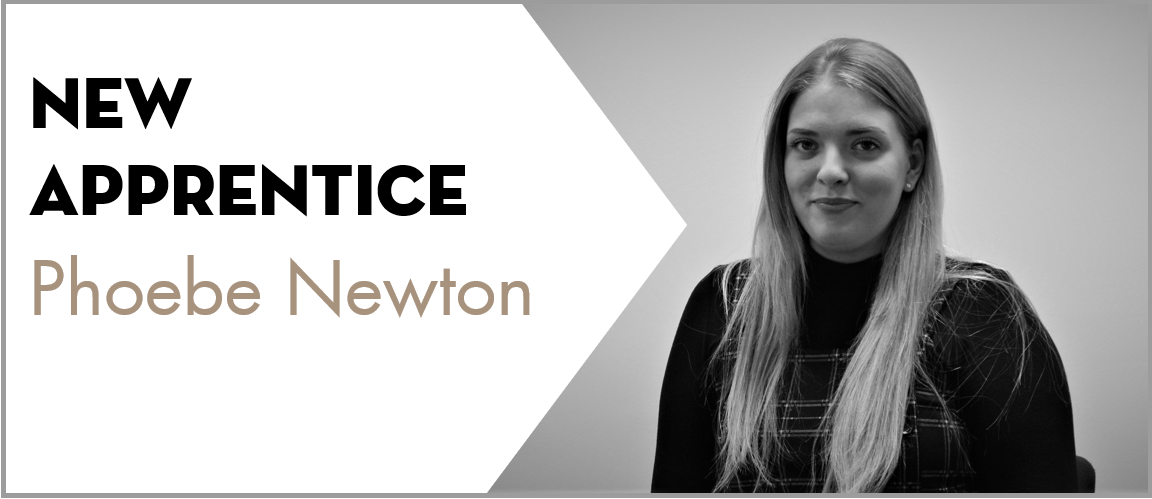 Welcome to the team Phoebe Newton