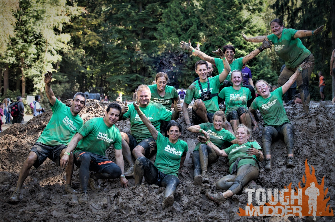 City & Essex team raises £2,620 for charity at Tough Mudder 5K